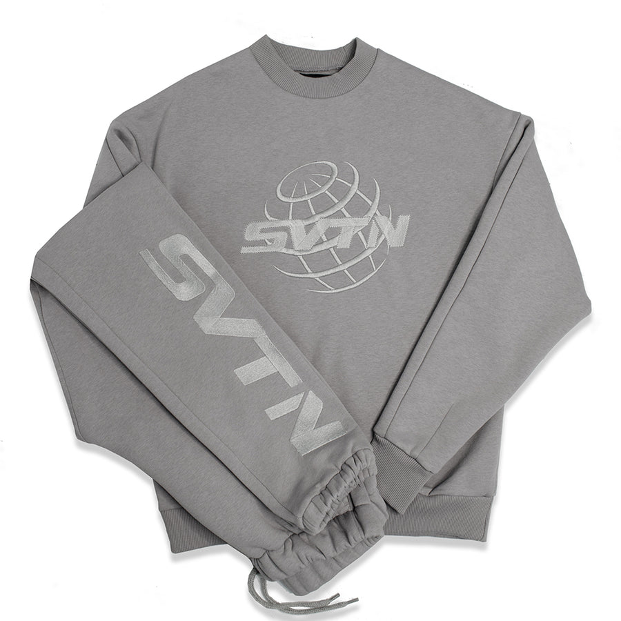 17 Worldwide Grey Sweater
