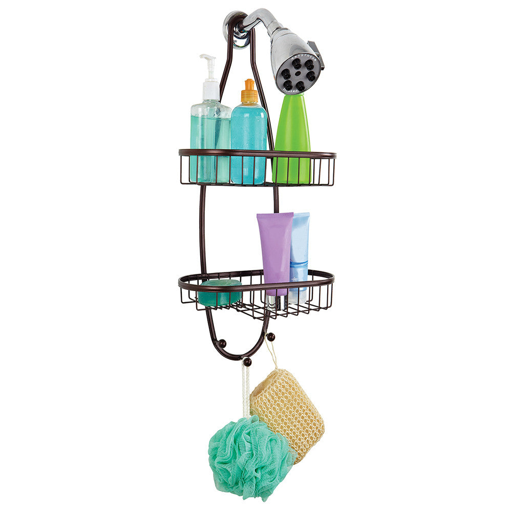 Bath Bliss Flat Wire Design Shower Caddy in Bronze – SPACE WITH TASTE