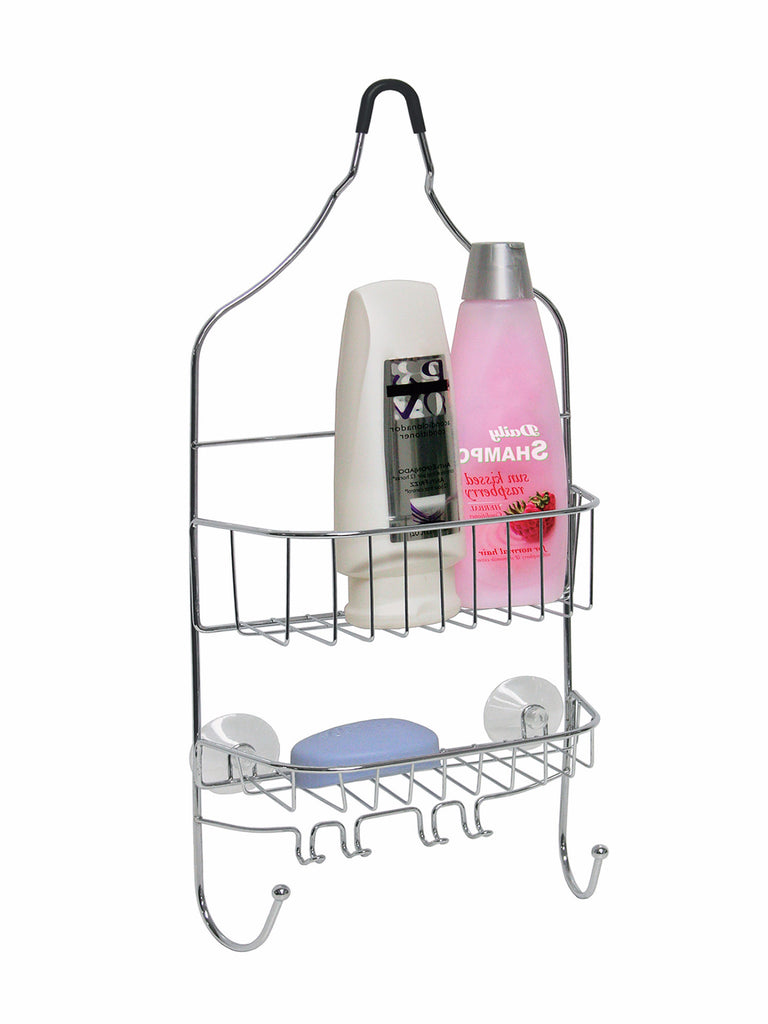 Bath Bliss Contoured Head Design Shower Caddy in Chrome – SPACE WITH ...