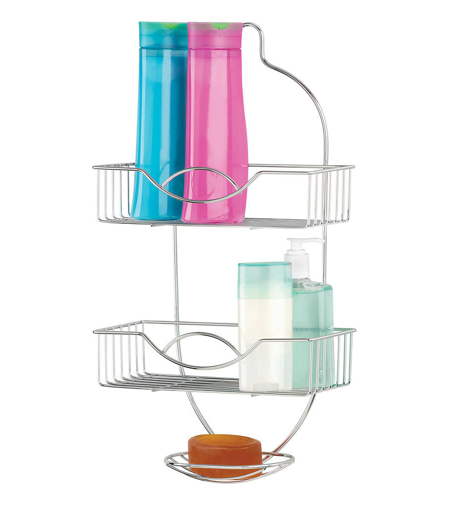 Bath Bliss Rainbow Design Shower Caddy in Chrome – SPACE WITH TASTE