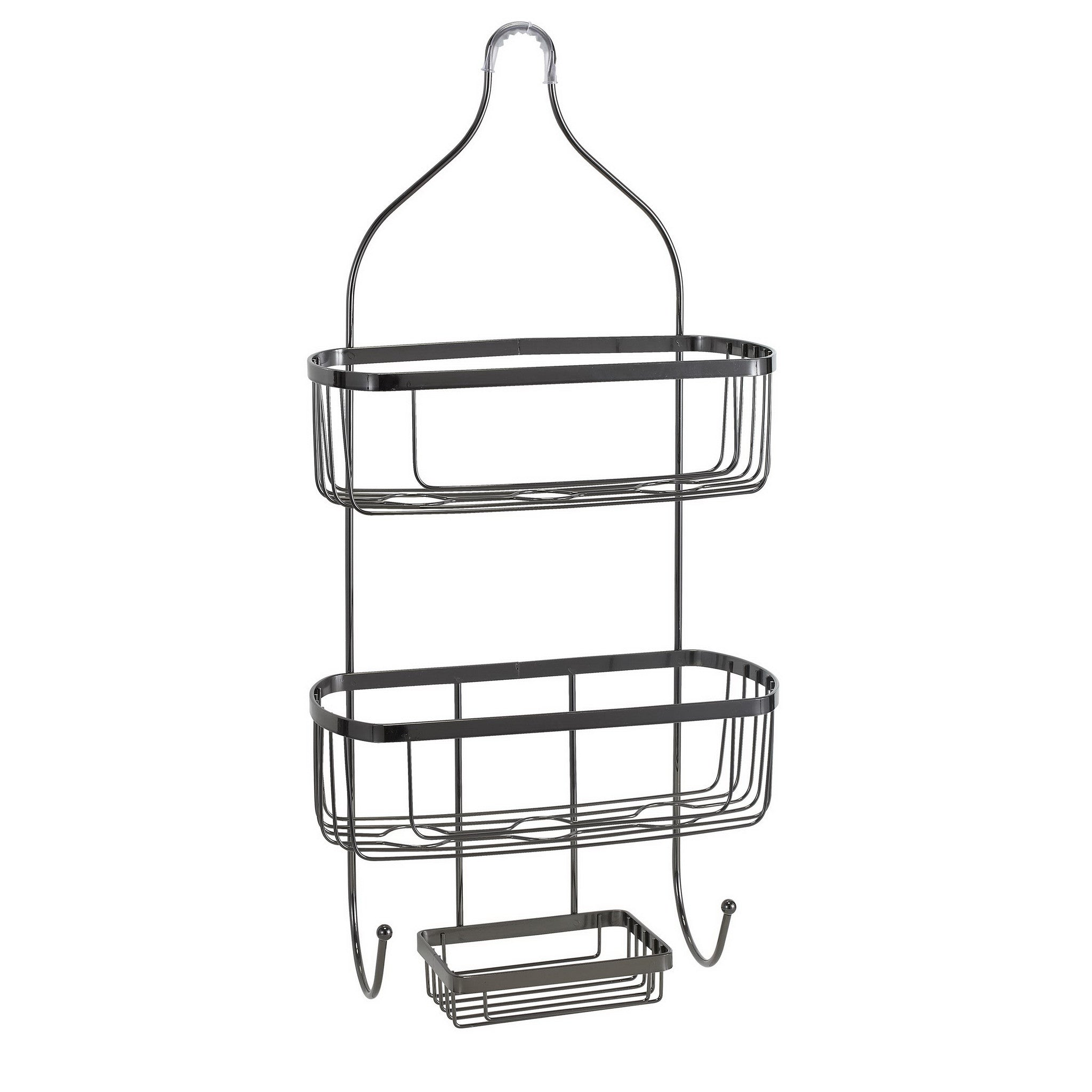 Bath Bliss Prince Design Shower Caddy in Black Onyx – SPACE WITH TASTE