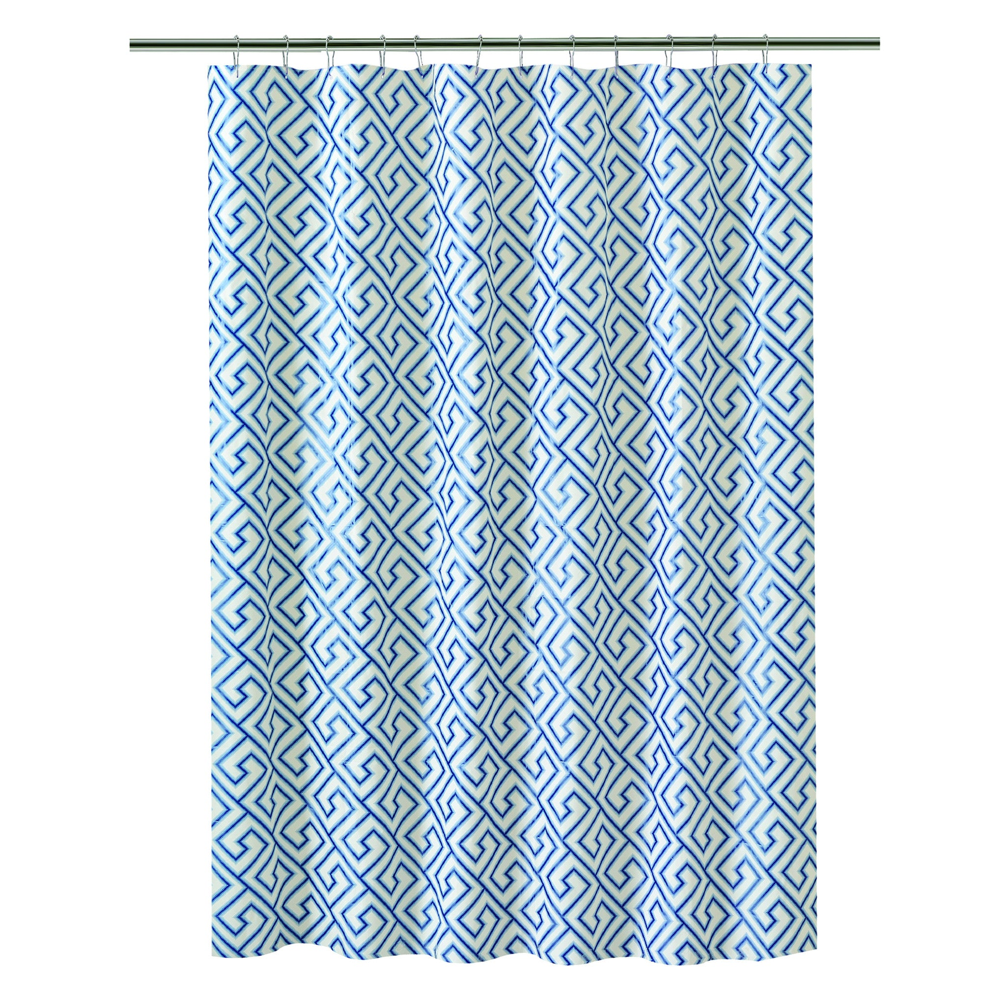 Bath Bliss Shower Curtain In Blue Key Design Space With Taste