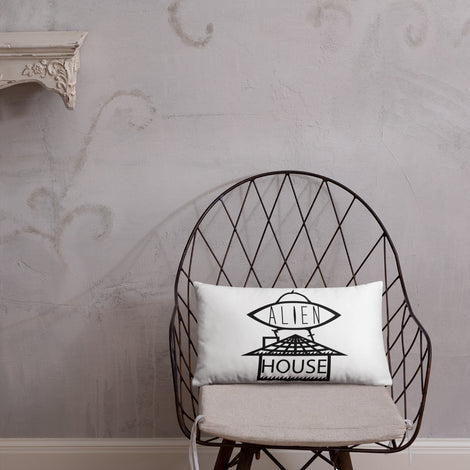 ALIEN HOUSE PILLOW [20×12]