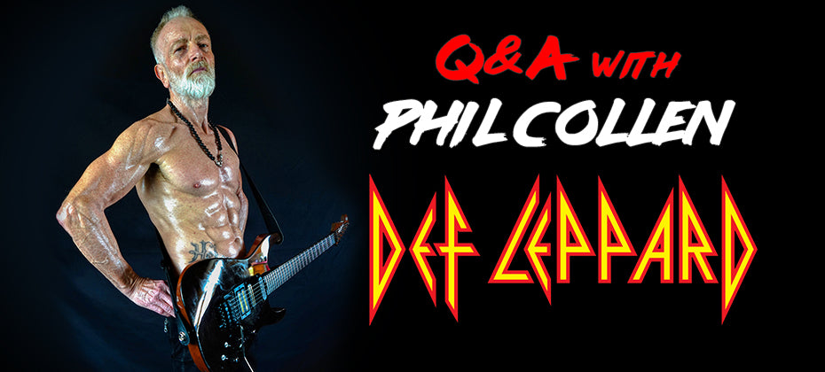 Phil Collen Q&A