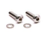 Stainless Steel Rear Locking Nut Mounting Screws