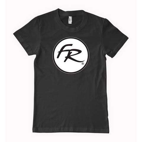 Floyd Rose Circle Logo T-Shirt - Black