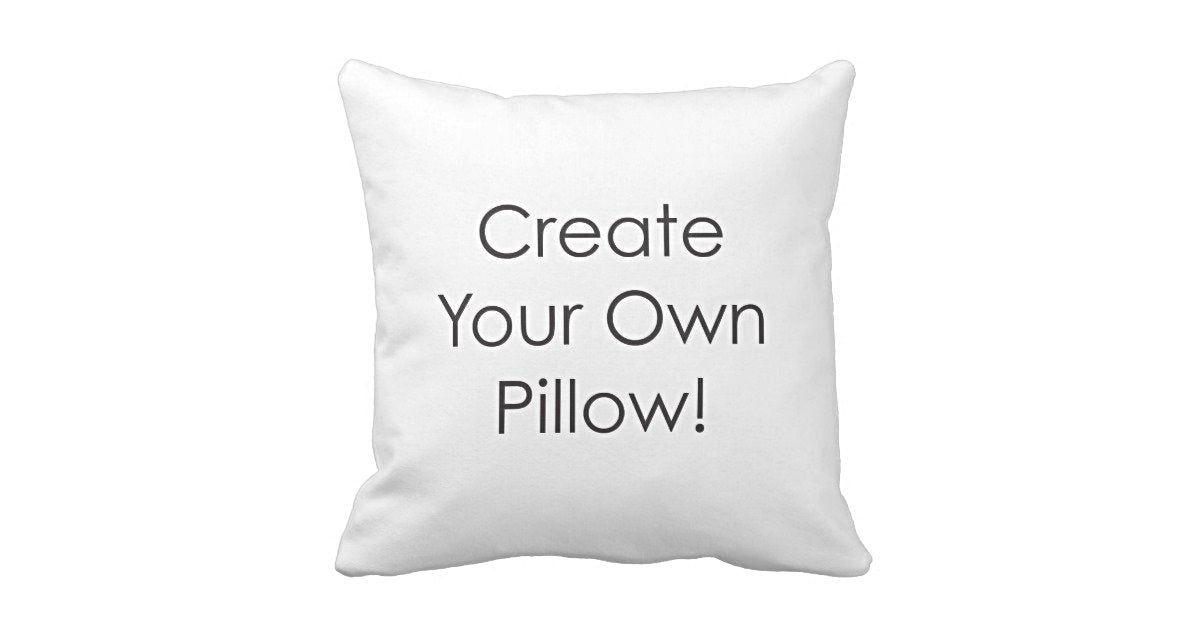 CREATE YOUR OWN! – The Party Pillow 491ecbae8075