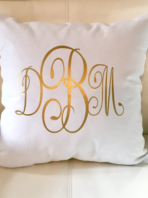 shams monogrammed home pillow applique sham monogram jacquelyn reese custom standard