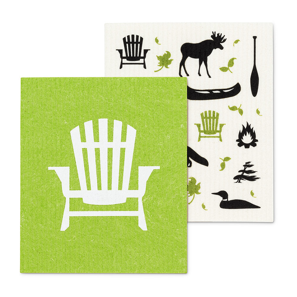 Swedish Cloths - Chair & Cottage Icon, Set of 2