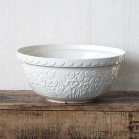 In the Forest, 29cm Cream Mixing Bowl