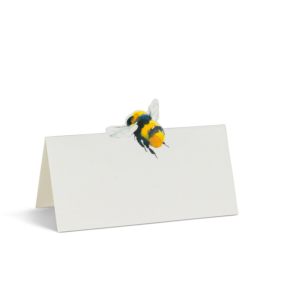 Bee Folded Placecards, 12 pk