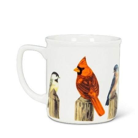 Birds on a Post Mug, 14oz