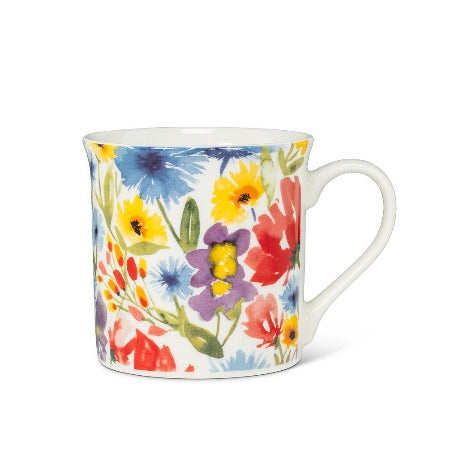 Allover Flower Mug, 12oz.