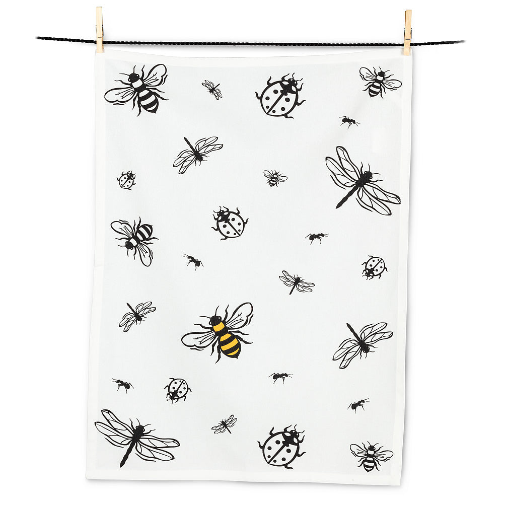 All Over Insects Tea Towel