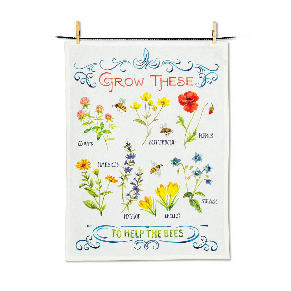 For the Bees Tea Towel