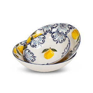 "Lemon Coupe Bowl, 9"" D"