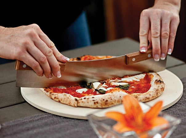 Outset Acacia Pizza Cutter, 13""