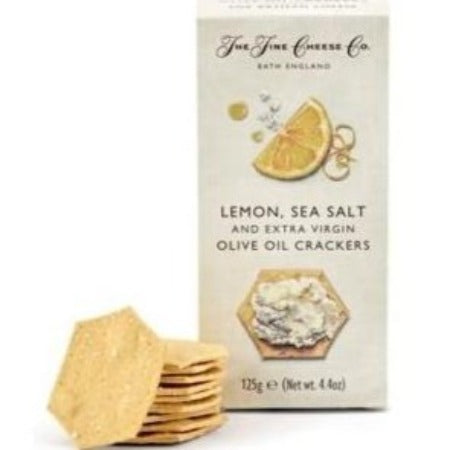 Lemon, Sea Salt & Extra Virgin Olive Oil Crackers