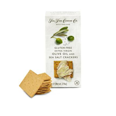 Gluten-Free Extra Virgin Olive Oil & Sea Salt Crackers