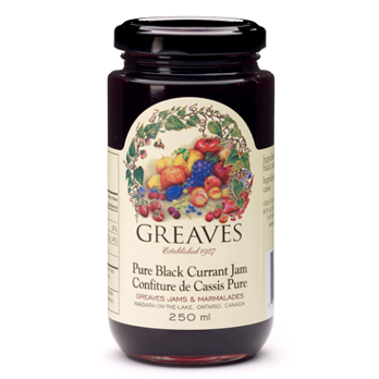 Pure Black Currant Jam, 250ml