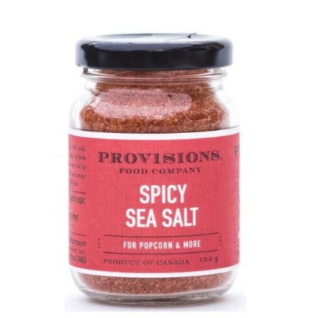 Spicy Sea Salt for Popcorn, 100g