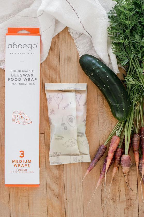 Abeego-Natural Beeswax Food Wraps