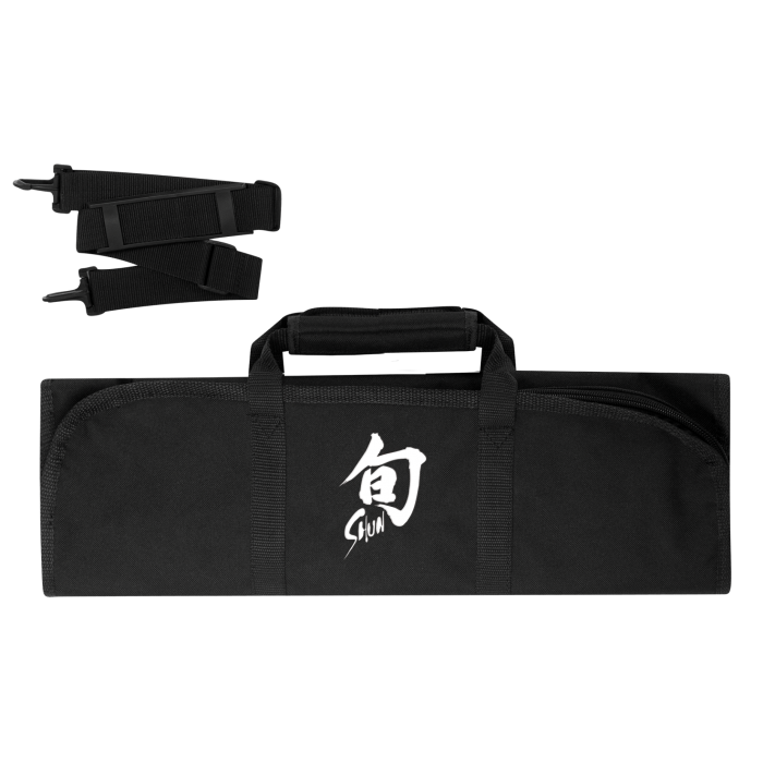 8–Slot Knife Roll (Black)