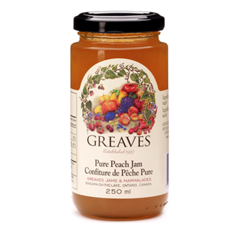 Pure Peach Jam, 250ml