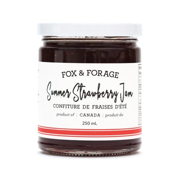 Fox & Forage Summer Strawberry Jam, 250ml