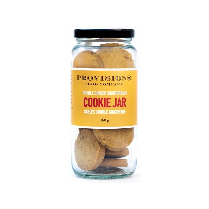 Provisions Cookie Jar Double Ginger Shortbread, Niagara
