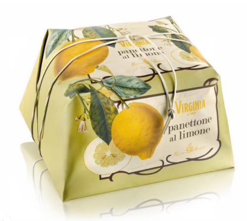 Lemon Panettone, Amaretti Virginia