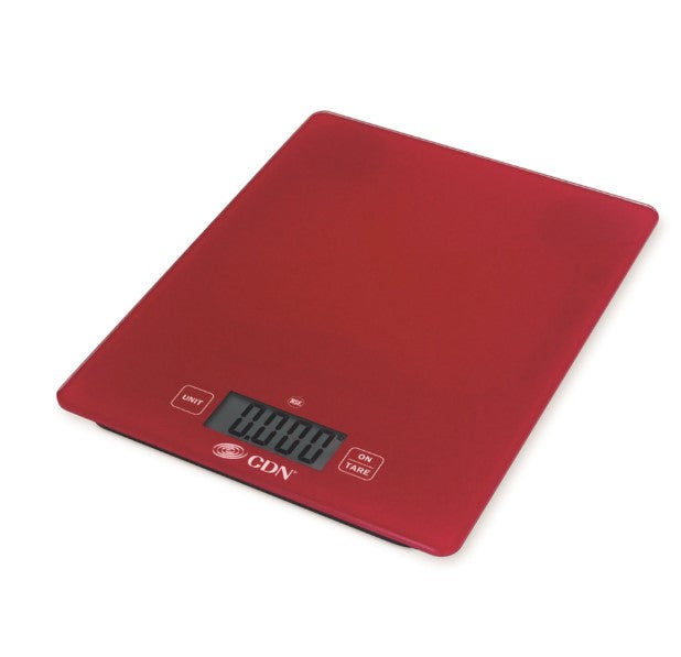 Red Pro Digital Glass Scale