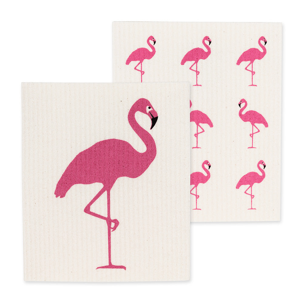 Swedish Cloths - Pink Flamingo