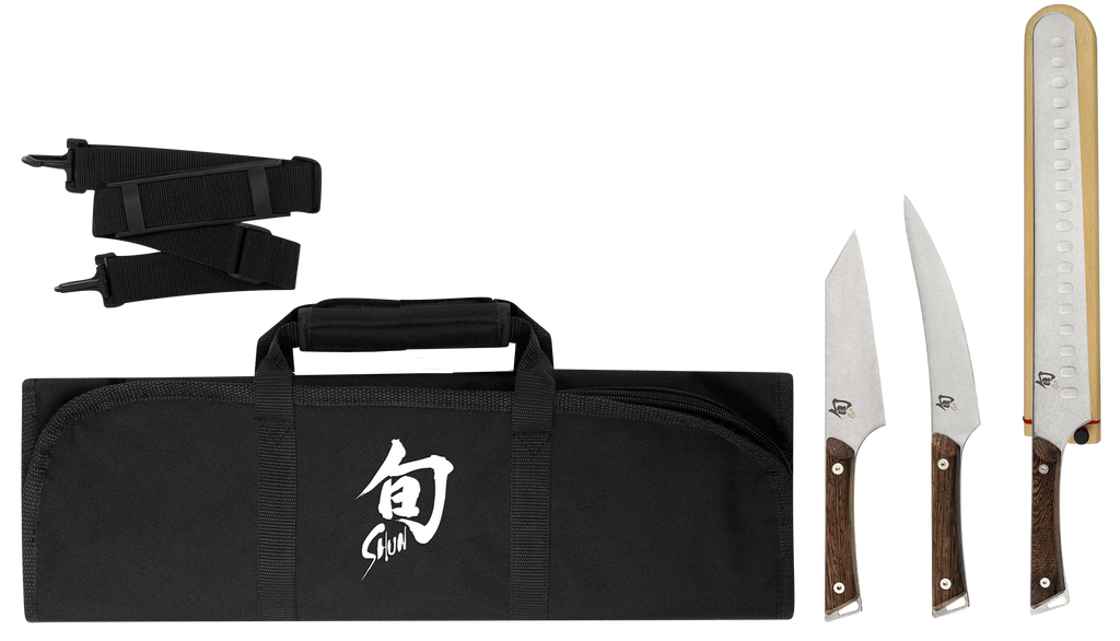 Shun Kanso 4 Piece BBQ Set
