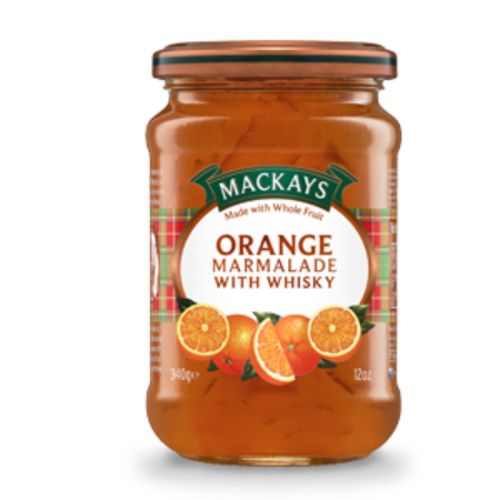 MacKays Orange Whiskey Marmalade