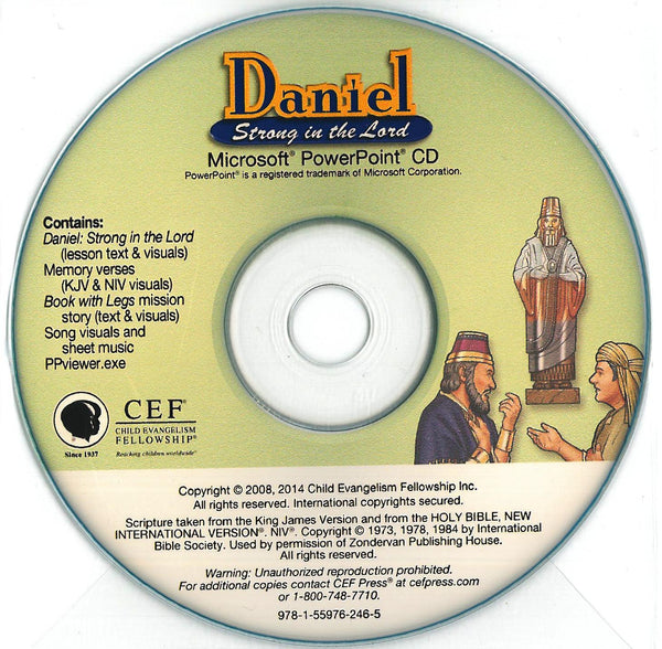 Daniel: Strong in the Lord - PPT CD