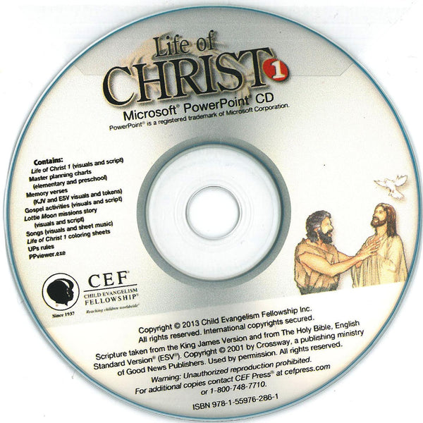 Life of Christ 1 - PPT CD