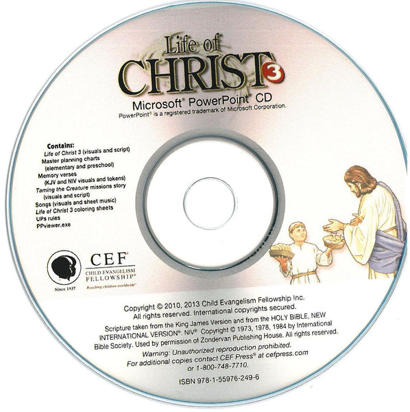 Life of Christ 3 - PPT CD