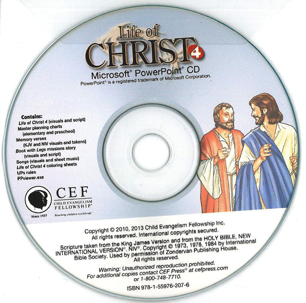 Life of Christ 4 - PPT CD
