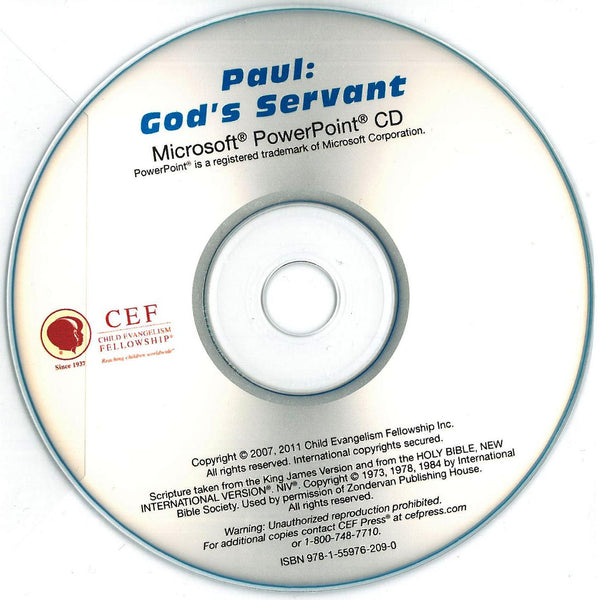 Paul: God's Servant - PPT CD