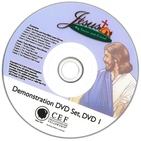 Jesus: My Savior and Friend DVD 1 and 2 - only 2 left in stock