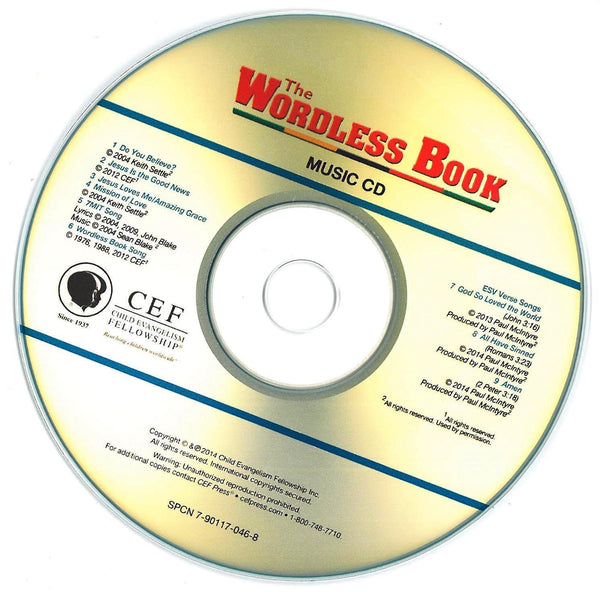 The Wordless Book - Music CD