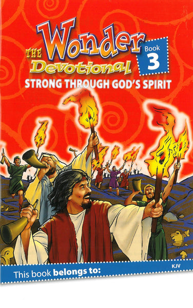 The 60-Day Wonder Devotional Book 3: Strong through God's Spirit (KJV)