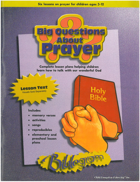 Big Questions About Prayer