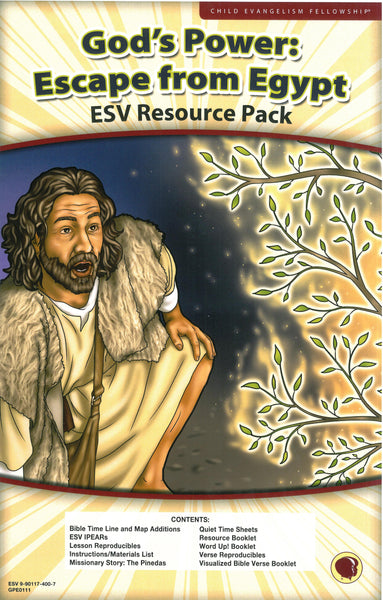God's Power: Escape from Egypt Resource Pack (KJV)