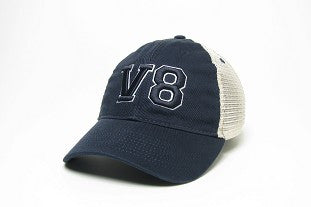 V8 Navy Blue with Blue V8 Mesh Cap