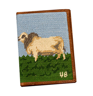 Brahman Embroidered Passport Cover