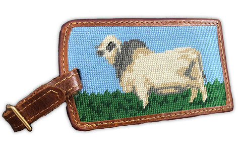 Brahman Embroidered Luggage Tag