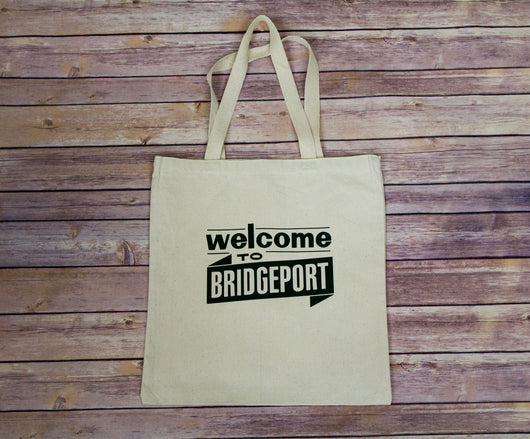 Welcome to Bridgeport Tote Bag