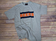 Pop Top Shirt by J. America Chicago Bears Tailgating